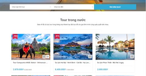 Dịch vụ sửa website du lịch, phòng vé – Giải pháp nâng cấp chuyên nghiệp