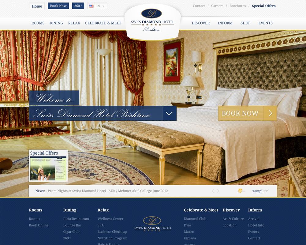 Dịch vụ sửa website khách sạn, nhà hàng