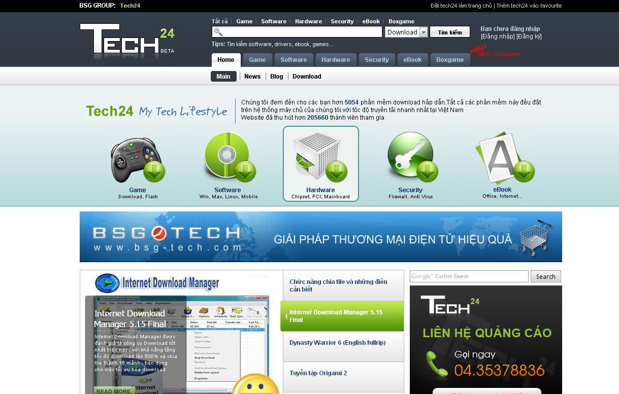 Dịch vụ sửa website tòa soạn báo trực tuyến, Portal