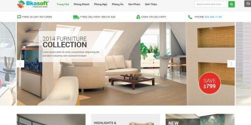 Dịch vụ sửa website kiến trúc, nội thất theo yêu cầu