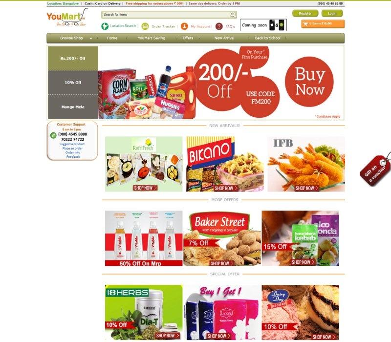 Dịch vụ sửa website thực phẩm - đồ uống