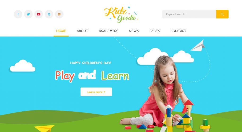 Dịch vụ sửa website trẻ em