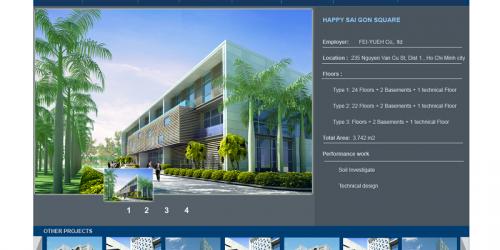 Dịch vụ sửa website Xây dựng công trình ấn tượng, chuyên nghiệp